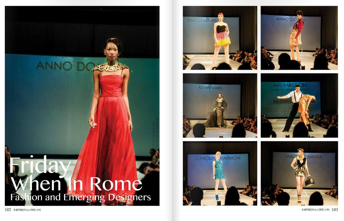 Charlotte Fashion Week When in Rome